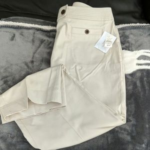 Talbot's crop stretch pants
